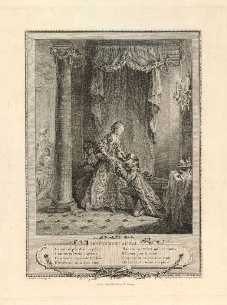 L'événement au bal, Jean-Michel Moreau le Jeune