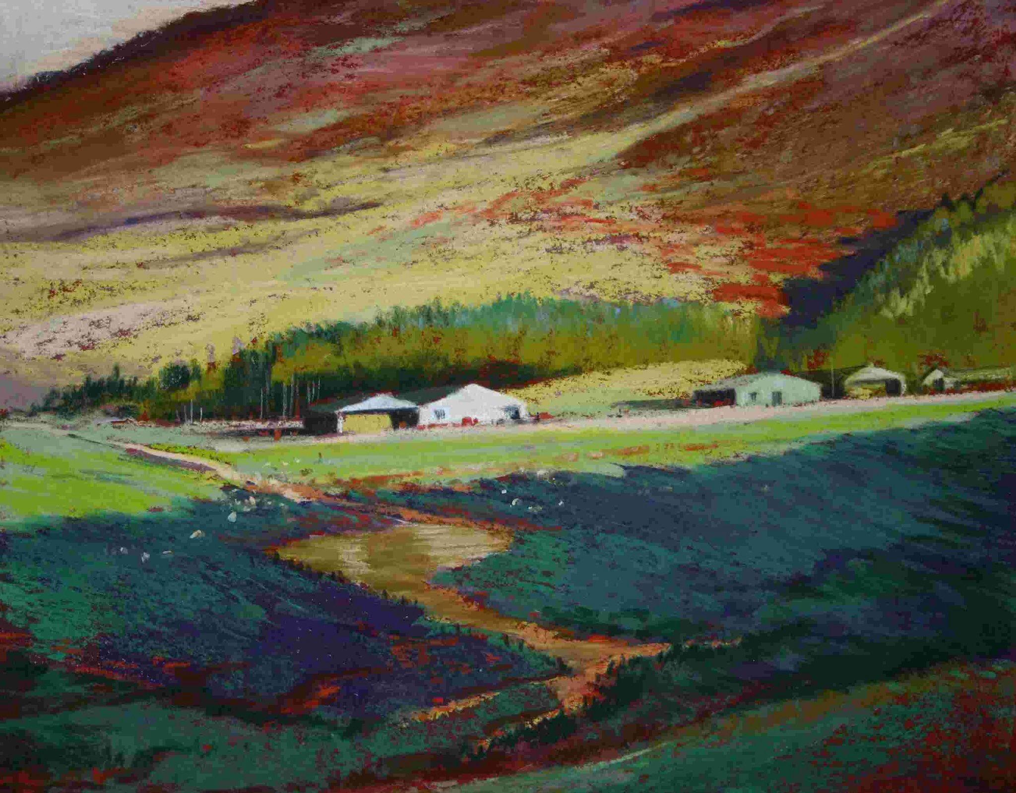 Pin by ROHINI BADHE on Impressionist landscape   Oil