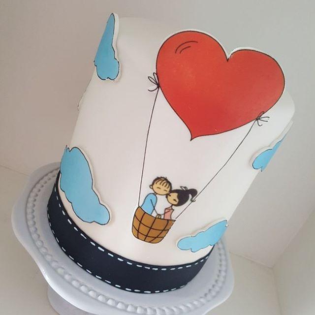 Apaixonada por esse bolo❤❤❤ #amomuito #cake #job #amor