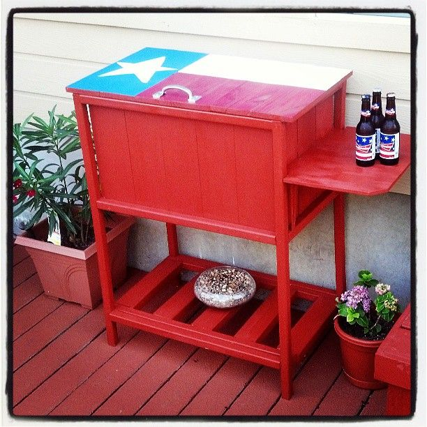 Texas size wooden cooler do it yourself home projects from ana texas size wooden cooler do it yourself home projects from ana white solutioingenieria Image collections