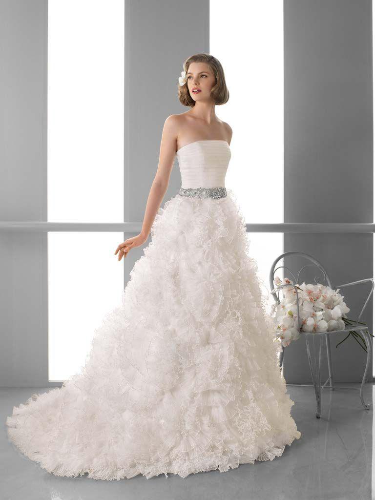 See through corset wedding dresses  fusterg   Dream  Pinterest