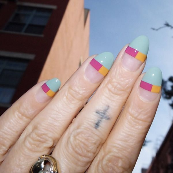 The Raddest Nail Art Coming Out Of L.A. Right Now | Negative space ...