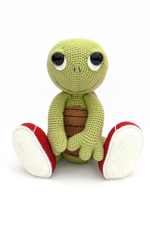 Otto the Turtle amigurumi pattern by Kamlin Patterns | Gehäkelte ...