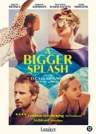 Bigger splash, (DVD) CAST: TILDA SWINTON, MATTHIAS SCHOENAERTS, RALPH FIENES DVDNL