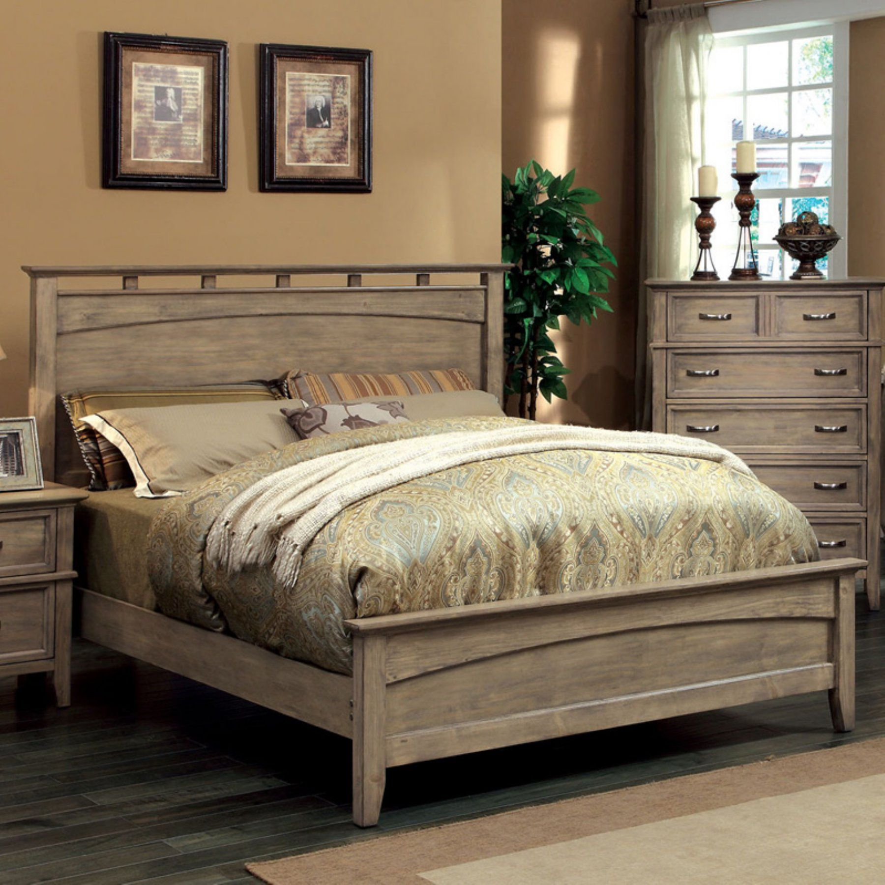 Best Furniture Of America Shunner Pike Low Profile Bed 400 x 300