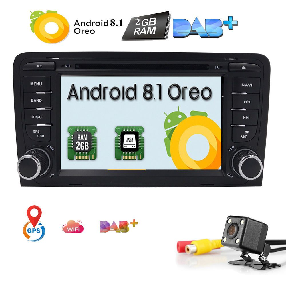 ebay angebote mp3 fÜr audi a3 2din autoradio dvd 2gb ram android 8.1