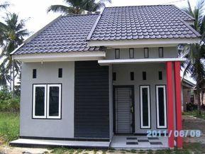 desain rumah minimalis tampak depan 1 lantai di 2020