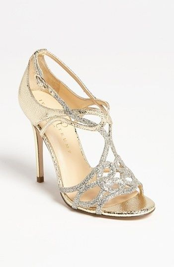 9e73c73c649 Ivanka Trump 'Herly' Sandal, gold & silver shimmer. | The Perfect ...