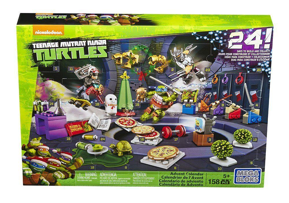 Teenage Toys For Christmas : Mega bloks tmnt toy teenage mutant ninja turtles xmas advent