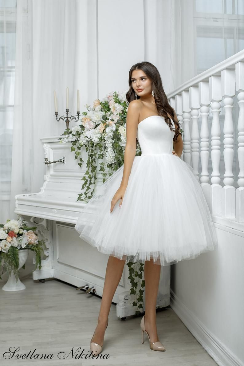 Hot Lace White Little Cocktail Party Dresses Bridal Gown Sweetheart Short Fitted Wedding Dresses Knee Length Beaded Belt Sheath Ri345 From Ufind 116 58 Dhga Knee Length Wedding Dress Short Wedding [ 976 x 994 Pixel ]