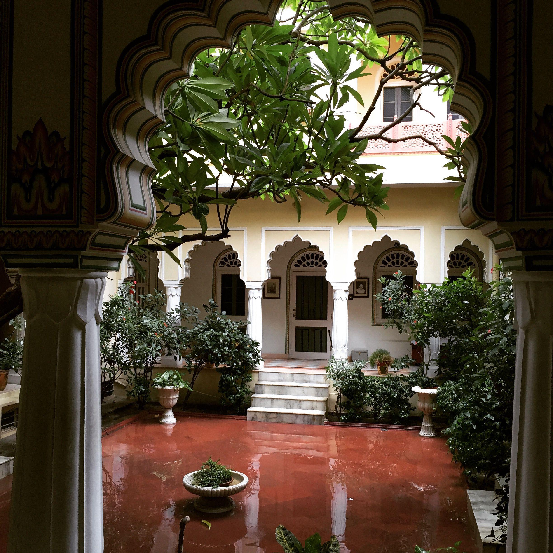 Monsoon At Alsisar Haveli, Jaipur #indiadiaries