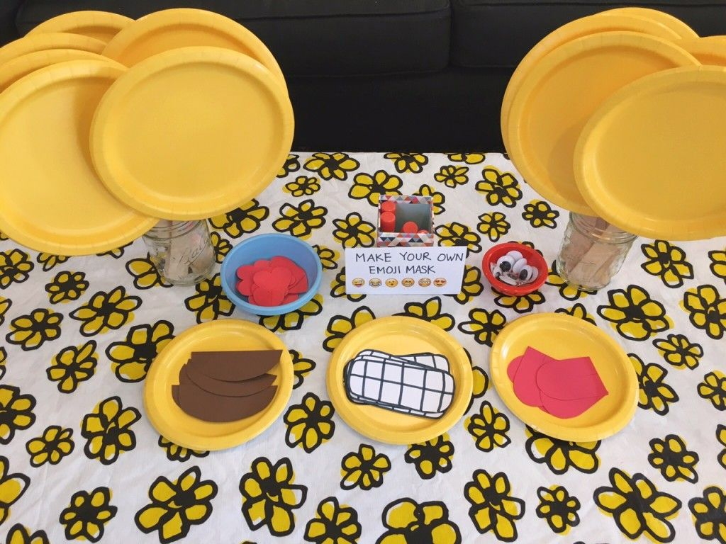 How To Throw The Ultimate Emoji Themed Birthday Party More