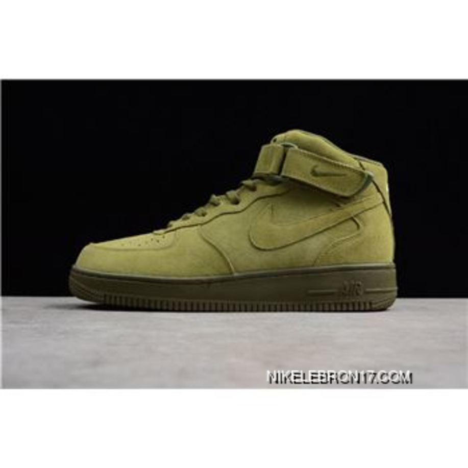 43563643a026f Nike Air Force One Mid '07 Legion Green Men's Size 315123-302 Online ...