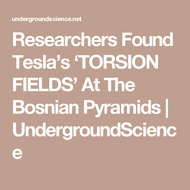 Found Teslas Torsion Fields — Pixlcorps