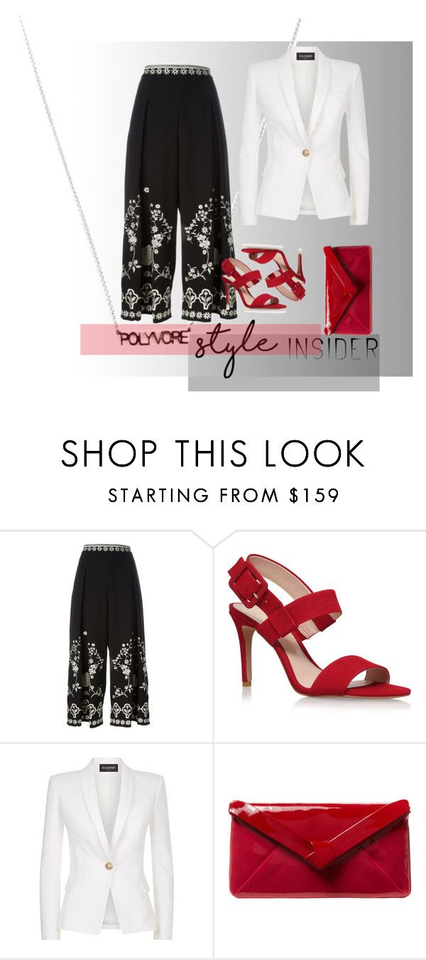 """""""Untitled #76"""" by krisihudson ❤ liked on Polyvore featuring Temperley London, Vince Camuto, Balmain, L.K.Bennett, contestentry and styleinsider"""