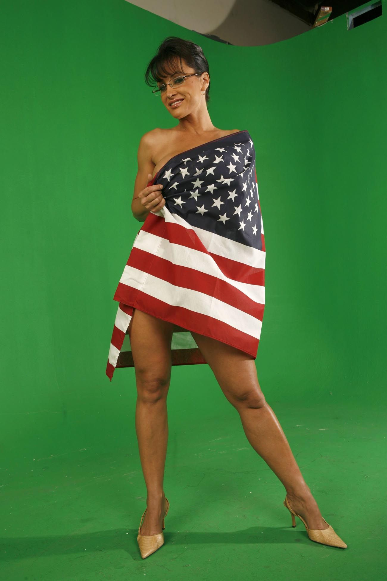 Lisa ann as sarah palin nude