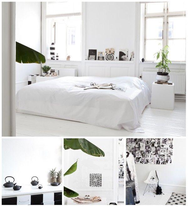 Niin valoisaa! #makuuhuone