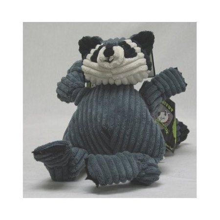 Huggle Hounds Woodlawn Knotties, Raccoon, Small, Multicolor