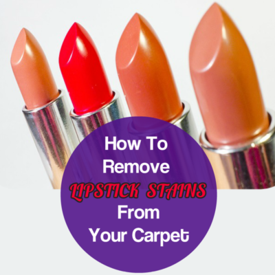 Remove Lipstick Stains From Carpet Removing lipstick