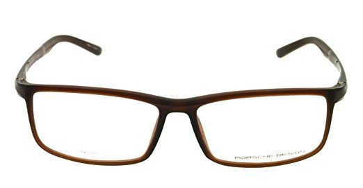 8aa28b6a31fe Amazon.com  Porsche Designs Eyeglasses P8228 B Brown Demo 56 14 140  PORSCHE  DESIGN  Health   Personal Care