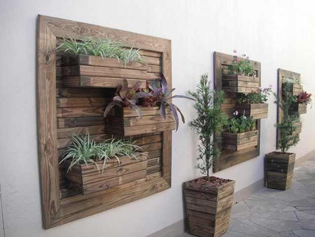 Decorazioni In Legno Per Giardino : Decorazioni giardino fai da te con come abbellire una recinzione
