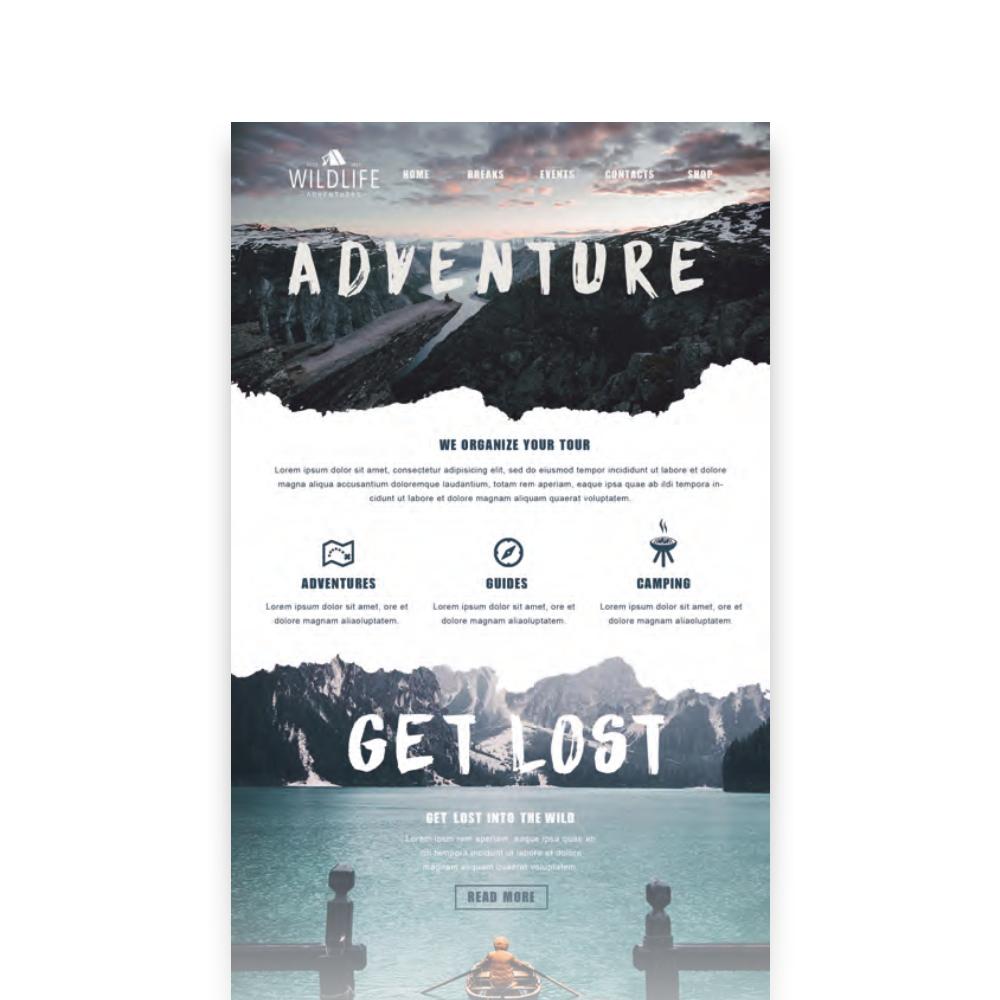 #OfG #YourMindCreatesThisWorld #Onlinekurs #Grafikdesign #Webdesign #Screendesign #Adventure #Wildlife by Tobias Renz!