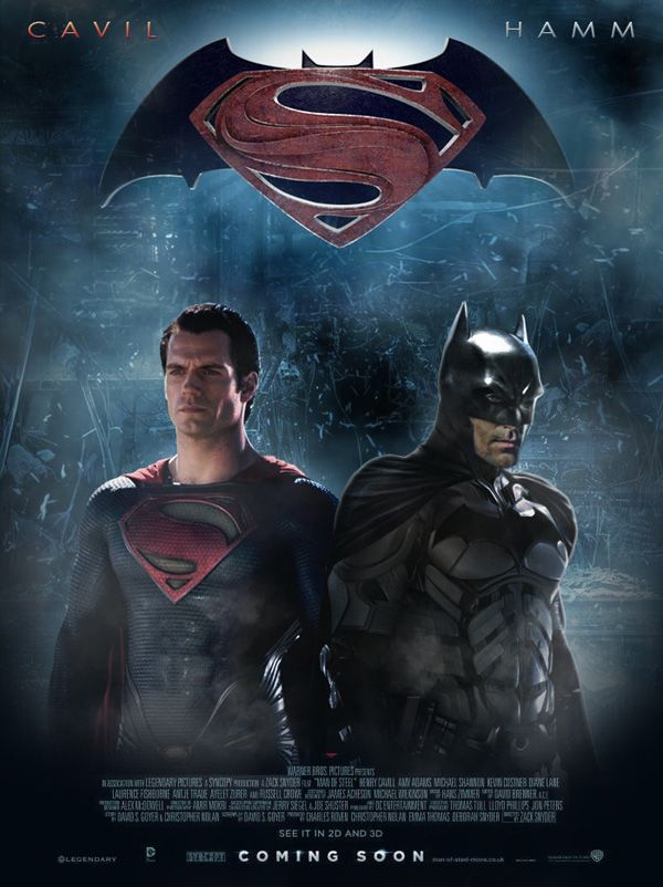 The Best Batman Vs Superman Movie Posters By Fans Batman Batman And Superman Superman Movies