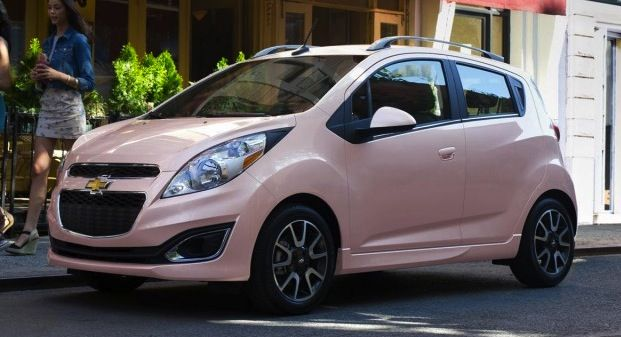 If You Ve Ever Wanted A Pink Car Now S Your Chance The 2013 Chevy Spark Chevrolet Spark Spark Car Spark Chevy