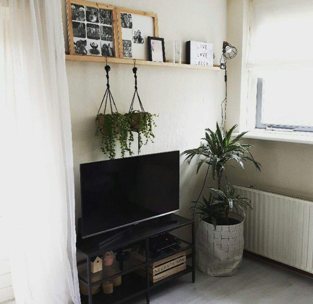 Tv Hoek Ikea Vittsjo Tv Meubel Vtwonen Fotoplank 170m