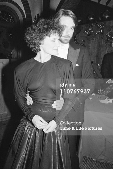 Actors Glenn Close and Jeremy Irons.