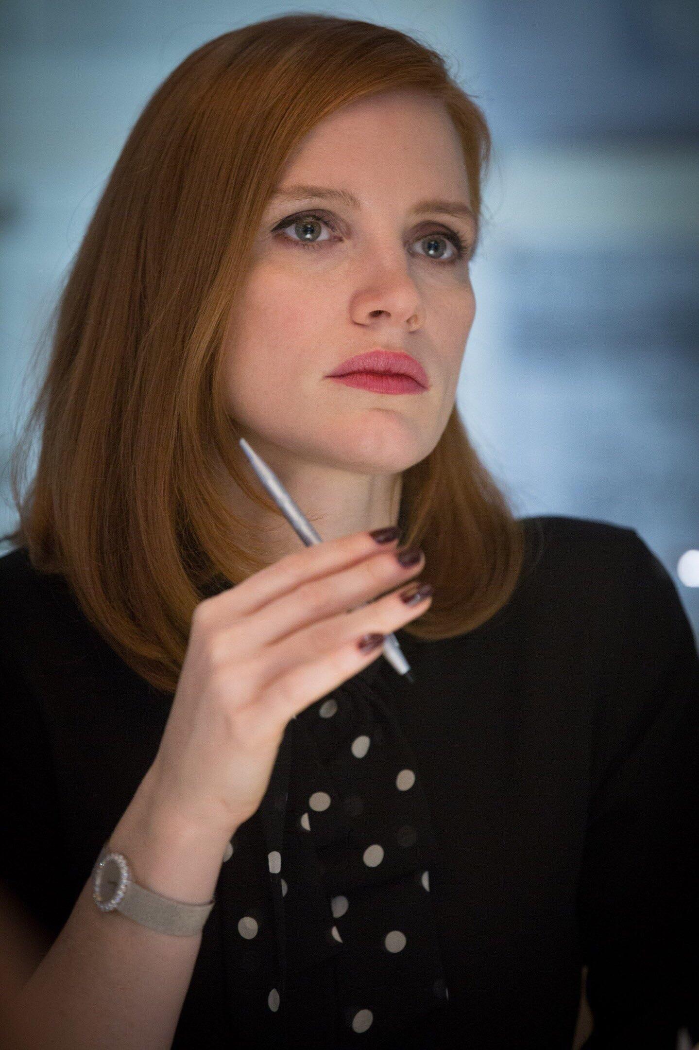Jessica chastain as professor melinda tate in 2020