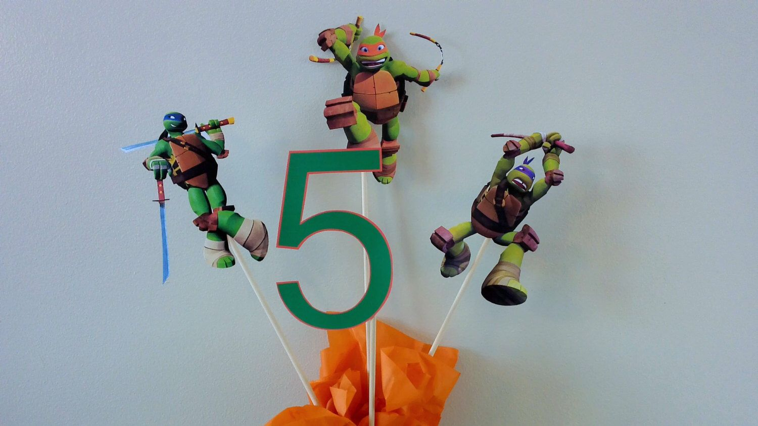 Free Banner With 15 Dollar Purchase Tmnt Centerpieces Teenage Mutant Ninja Turtle Centerpieces Tmnt Ninja Turtle Centerpieces Free Banner Boy Birthday Party
