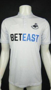 Swansea City Afc Home 16 17 Season White Soccer Jersey H727 With Images Swansea City Soccer Jersey Swansea