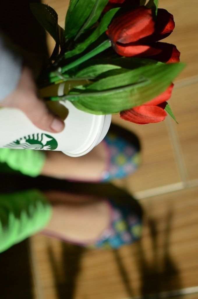 Los colores de la primavera 2014 #tulips #starbucks #love #bracelets #love #fashion #girly #casuallook #springlook