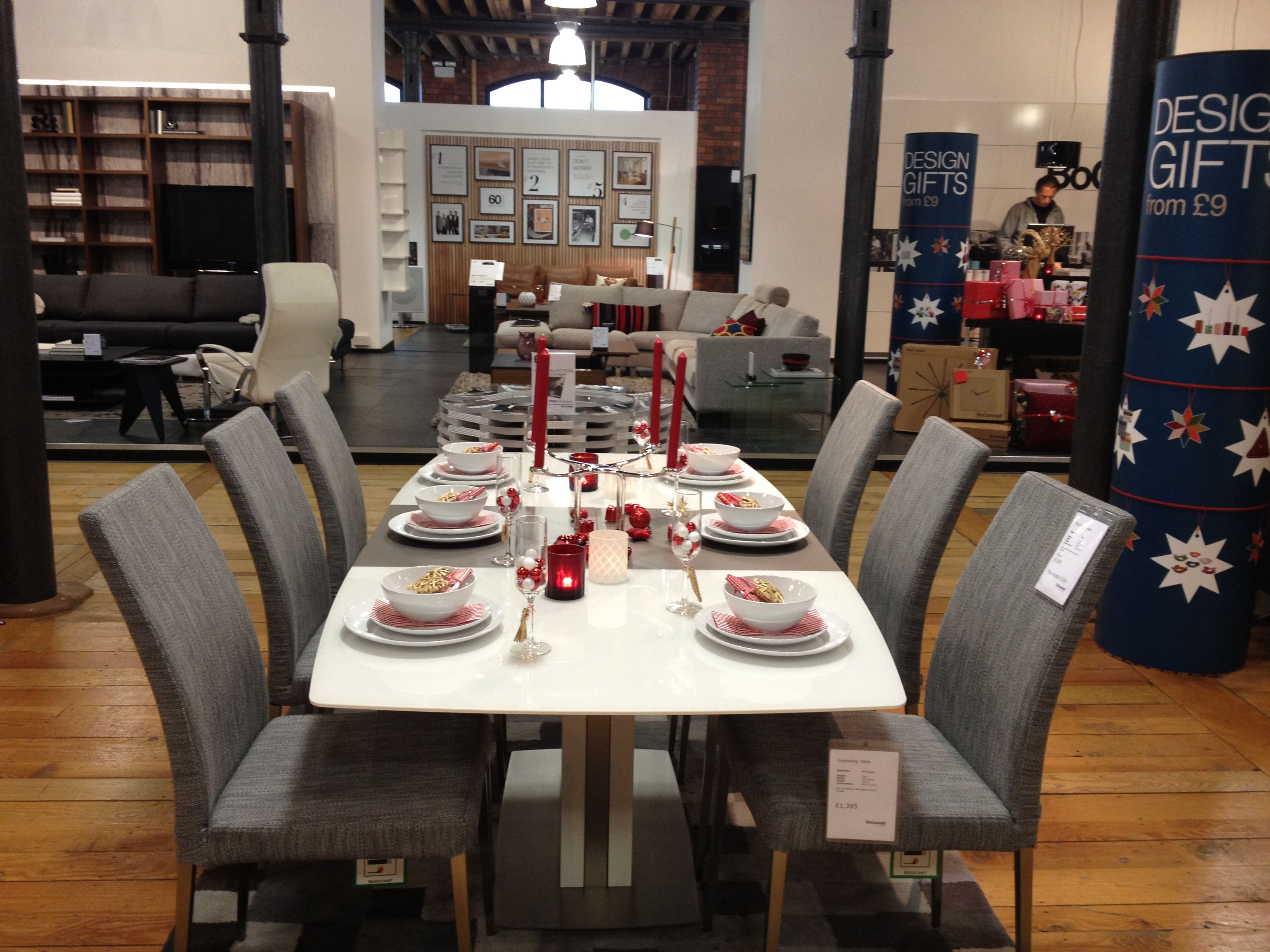 BoConcept Occa Expanding Table And Nico Chairs BoconceptChristmas TimeXmasKitchen DiningDining