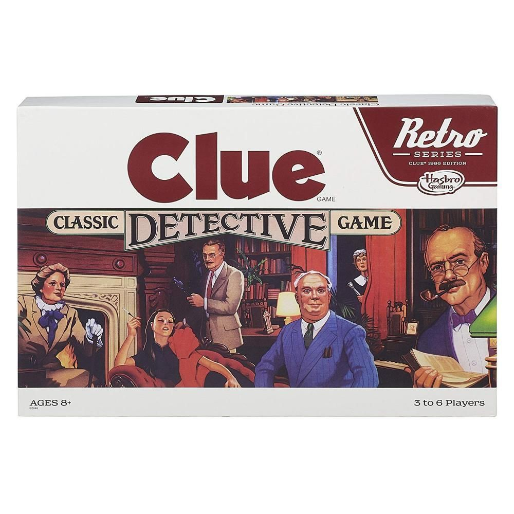 Retro Series Clue 1986 Edition Game Best family board