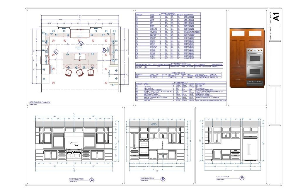 Commercial kitchen electrical design