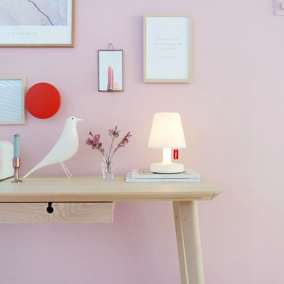 Pink Is Always A Good Idea Use The Edison The Petit As Outdoor Or Indoor Table Lamp Fatboyoriginal Wireless White Lamp Tablelamp In 2020