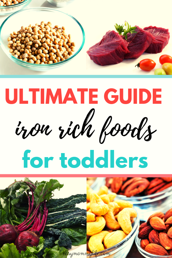 The Ultimate Guide To Iron Rich Foods For Toddlers images