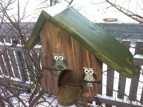 Vogelhaus Eule umbra