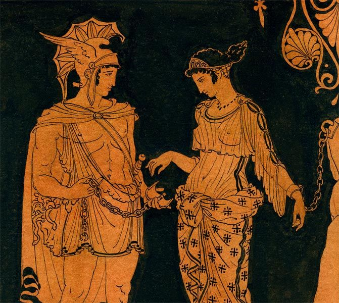 Greek Ancient Art Paintings