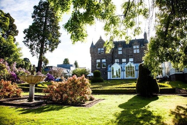 Mansion House And Garden Landmark Dundee