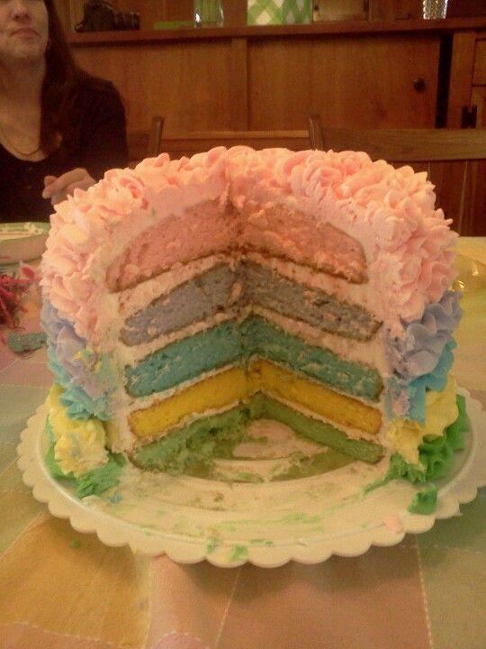Inside of Easter cake!