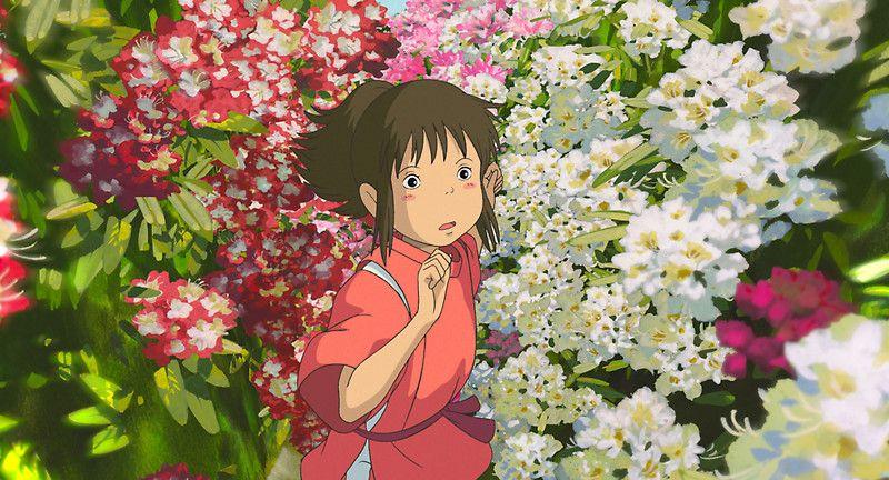 Running Through The Flowers Spirited Away By Dkaufman Spirited Away Wallpaper Studio Ghibli Movies Ghibli Art