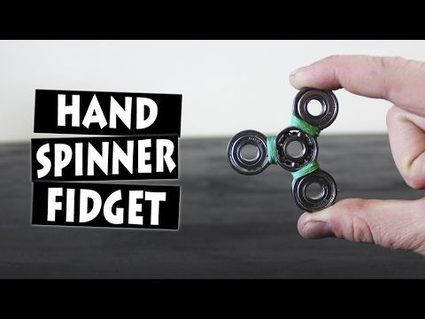 DIY Hand Spinner Fidget Toy | EASIEST WAY - YouTube