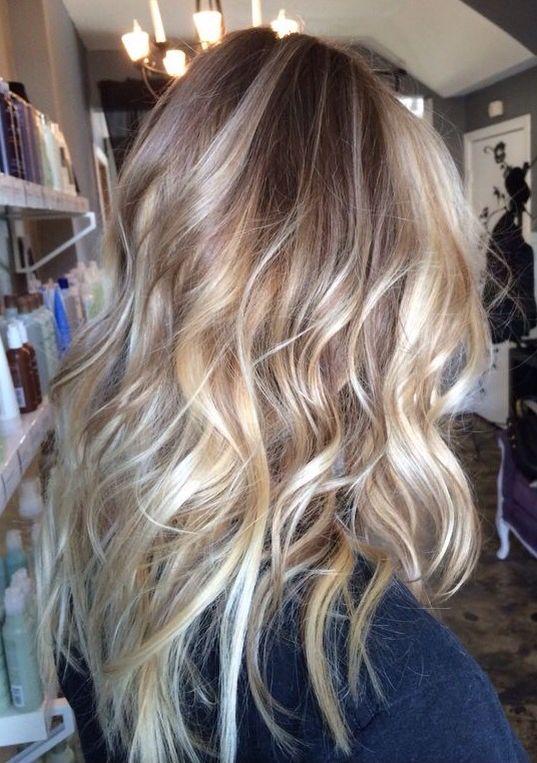 Salted Caramel Blonde Hair Styles Hair Beauty Hair