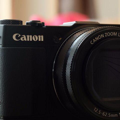 PowerShot G1X Mark II Digital Camera 12.8MP 5x Zoom Black w/Box