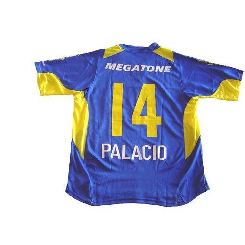 513787ed4 #NIKE_BOCA_JUNIORS_2006_HOME_PLAYERS_VERSION_PALACIO_JERSEY --- Boca  Juniors 2006 home sphere dry player version shirt in royal blue/yellow......  Shop now ...