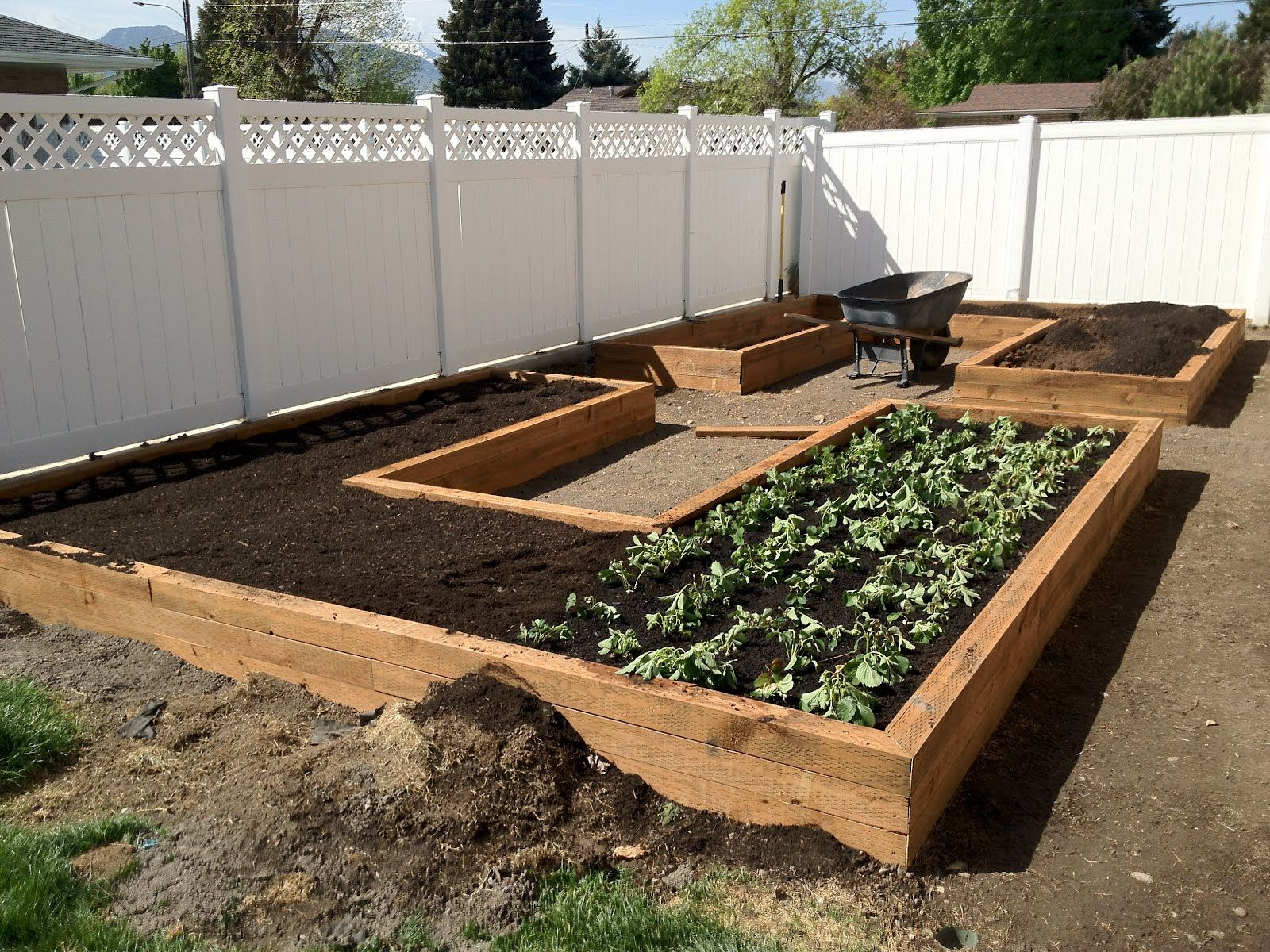 Instructions For Making Raised Garden Beds How To Build Garden Boxes Step By Step Instructions