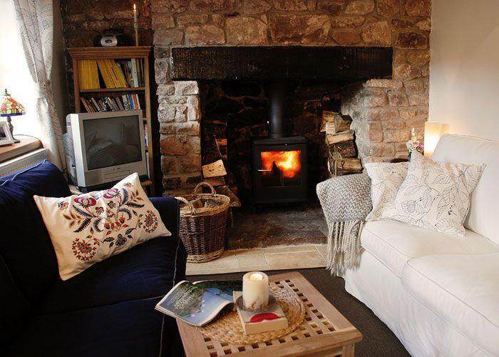 Brockweir Cottage Living Room